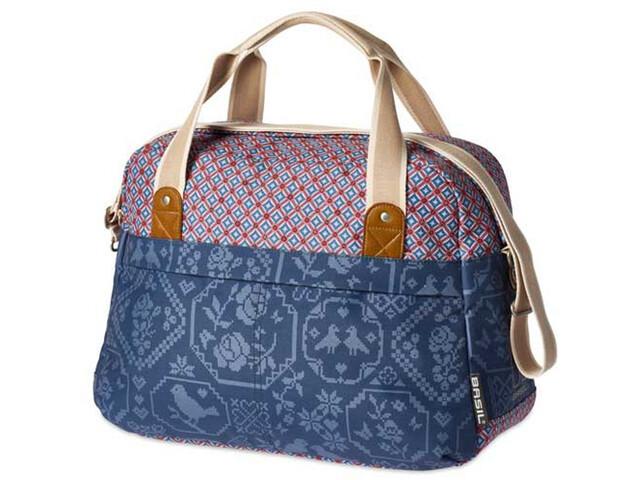 Basil Bohème-Carry - Sac porte-bagages - 18l beige/bleu